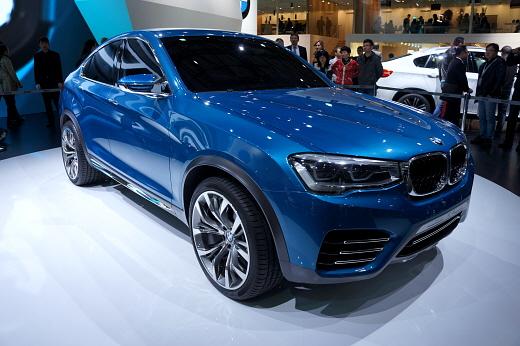 BMW, X3의 쿠페형 디자인은?