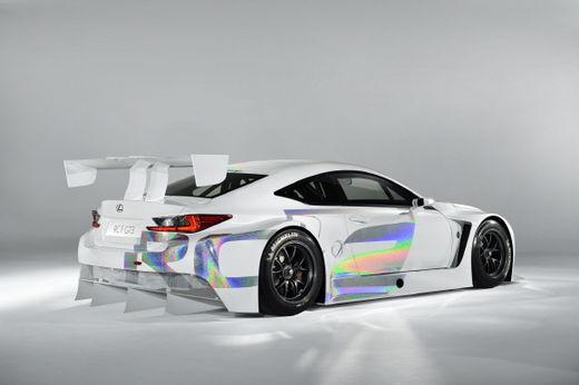 렉서스, 경주 DNA 담은 RC F GT3 컨셉트 선보여