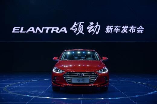 현대차, 중국형 신형 아반떼 '링동' 출시