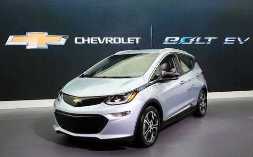 GM, 2018년까지 볼트 자율주행차 1,000대 시험 예정