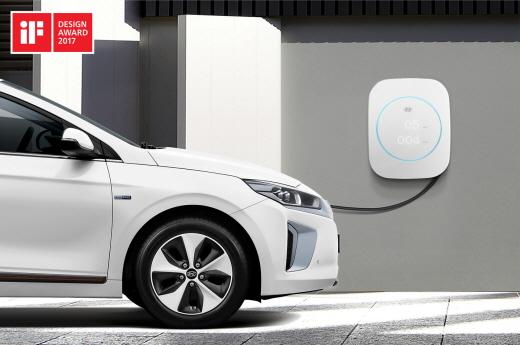 현대차, 아이오닉 충전기·브랜드 전용 서체로 iF 디자인상 받아
