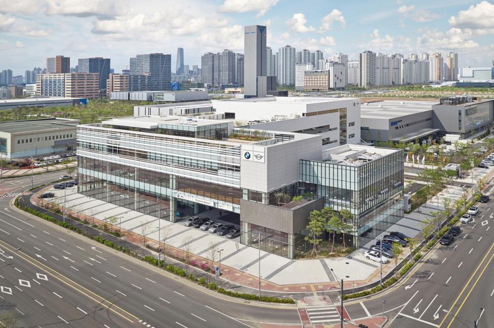 BMW코리아, 세계 최대 규모의 통합센터 '송도 콤플렉스' 개장