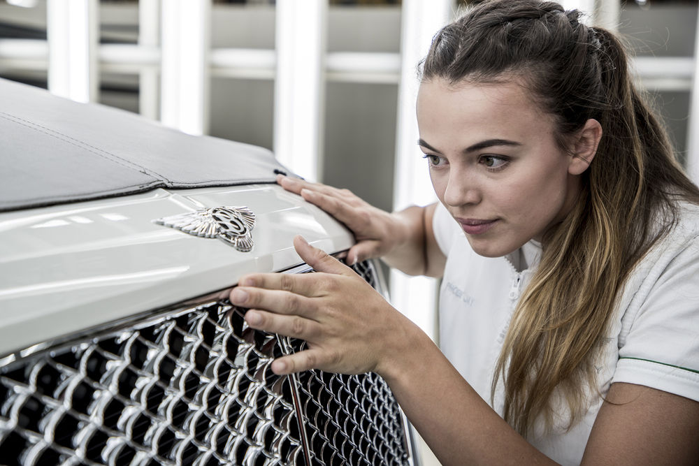벤틀리모터스, 영국 졸업자들이 뽑은 '최고의 직장' 선정