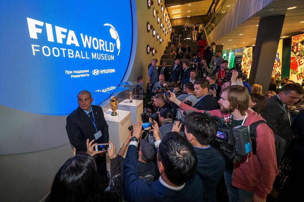 현대차, 모스크바에서 월드컵 기념하는 전시회 열어