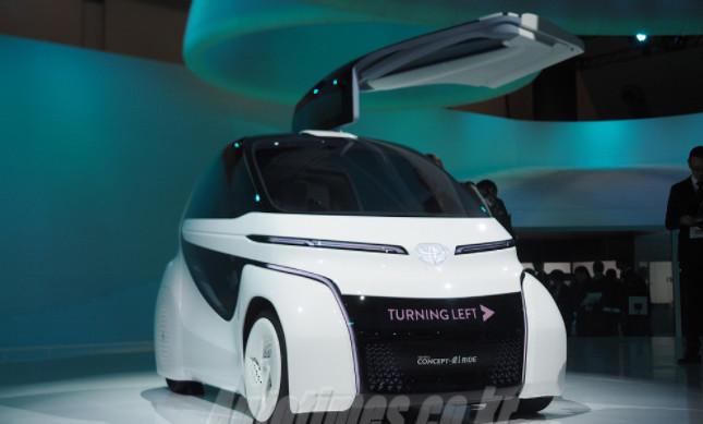 토요타 EV 승차공유, 승객이 전기를 직접 생산?