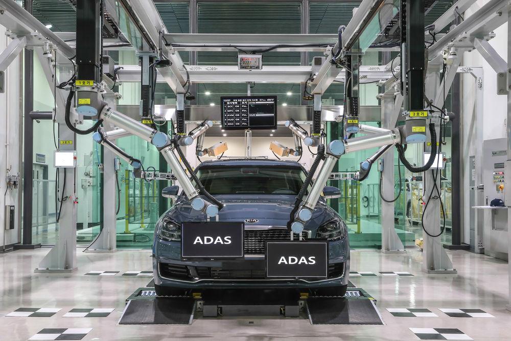 현대·기아차 , 로봇 기반 전장 집중검사 시스템 개발