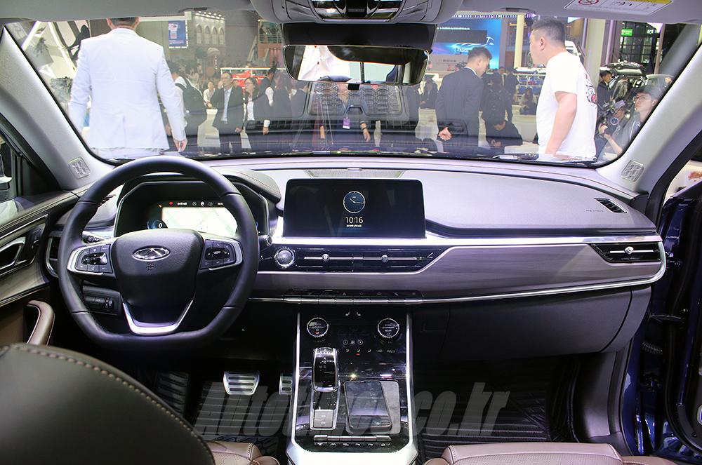 [2019 상하이]체리, 새 SUV 기함 'TIGGO8'